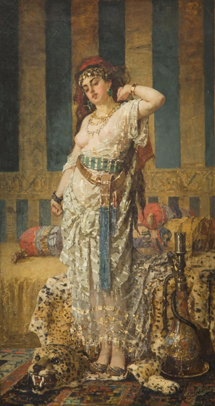 Esclavas sexuales y odaliscas en 5 pinturas eróticas 0