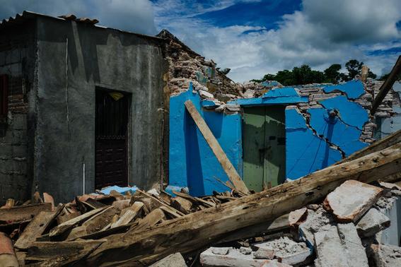 imagenes de la tragedia en juchitan 13