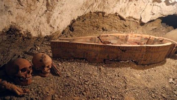 hallazgo en necropolis de egipto 1