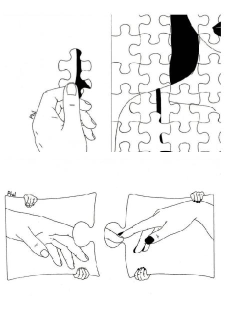 Ilustraciones sobre la diferencia entre abrir mi corazón y abrirte las piernas 3