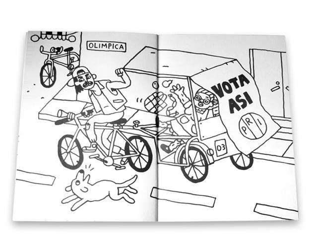 Ilustraciones que exponen la violencia y la hostilidad que se vive en Ecatepec 3
