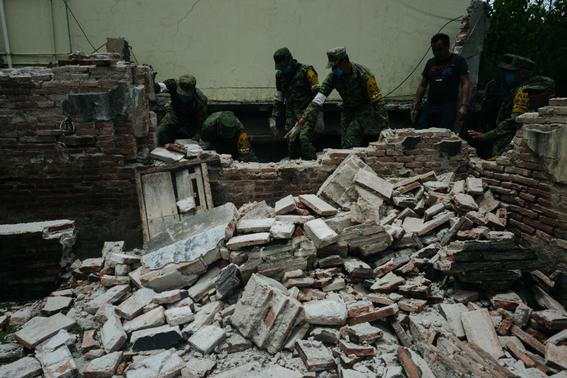 imagenes de la tragedia en juchitan 5