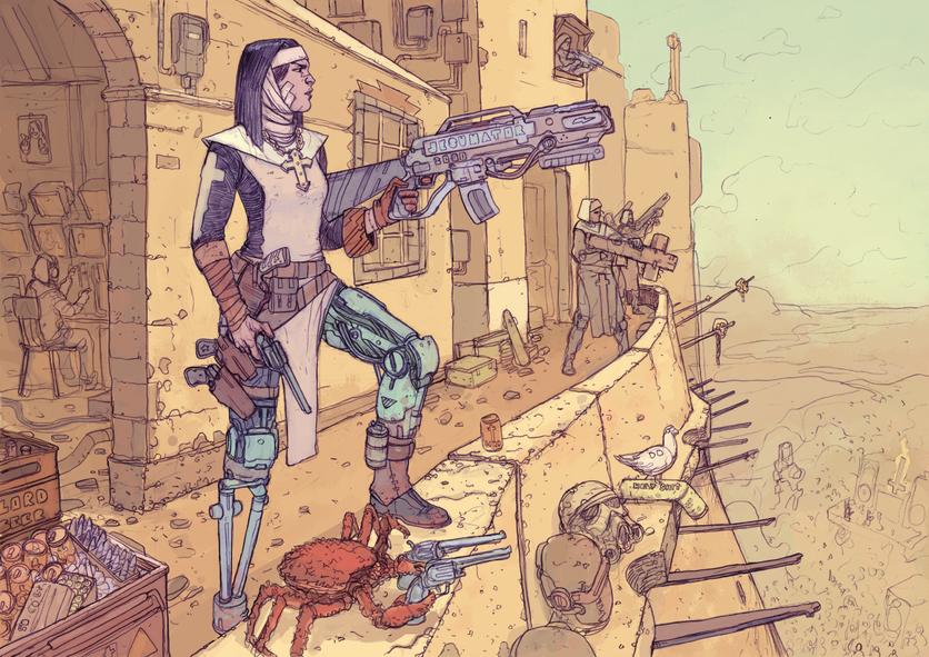 El sombrío y peligroso futuro de la humanidad en 20 ilustraciones 8