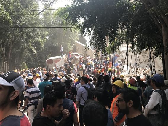 brigadas ciudadanas salvaron vidas tras el sismo 4