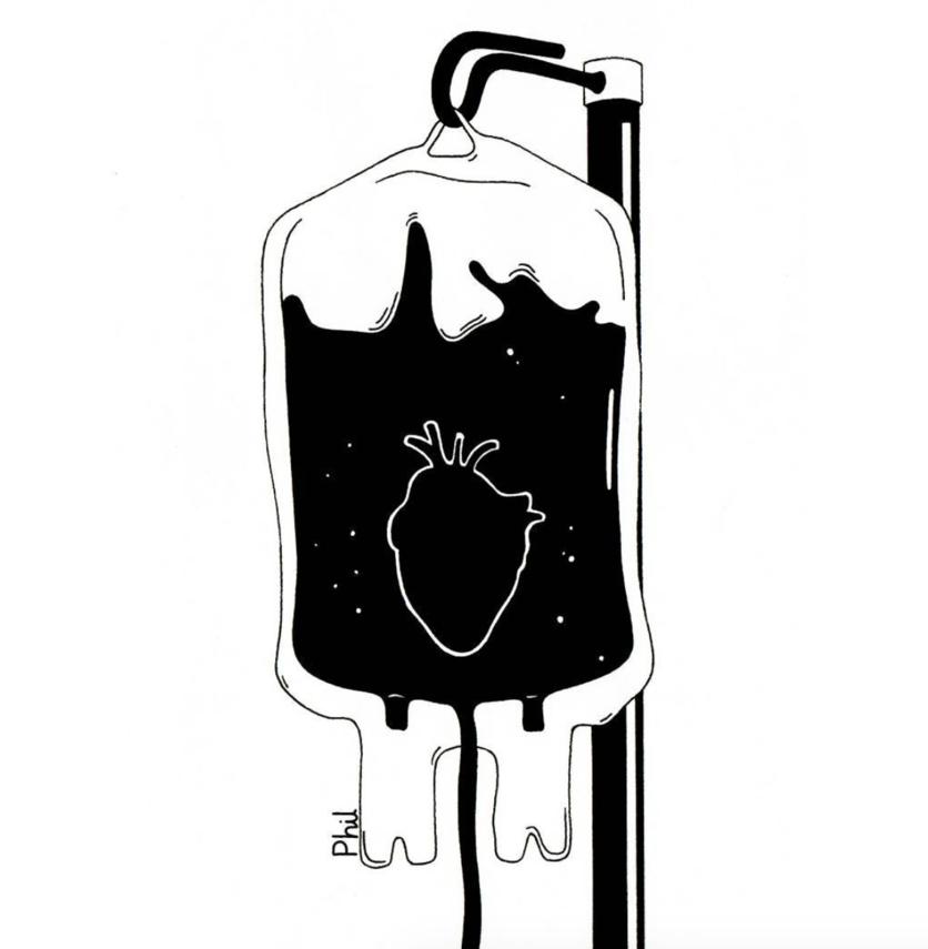 Ilustraciones sobre la diferencia entre abrir mi corazón y abrirte las piernas 1