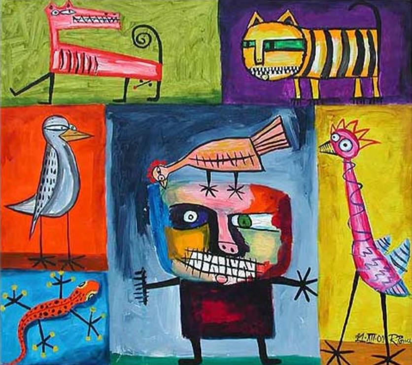 El movimiento que prueba que para ser artista se necesita locura y desequilibrio mental 4