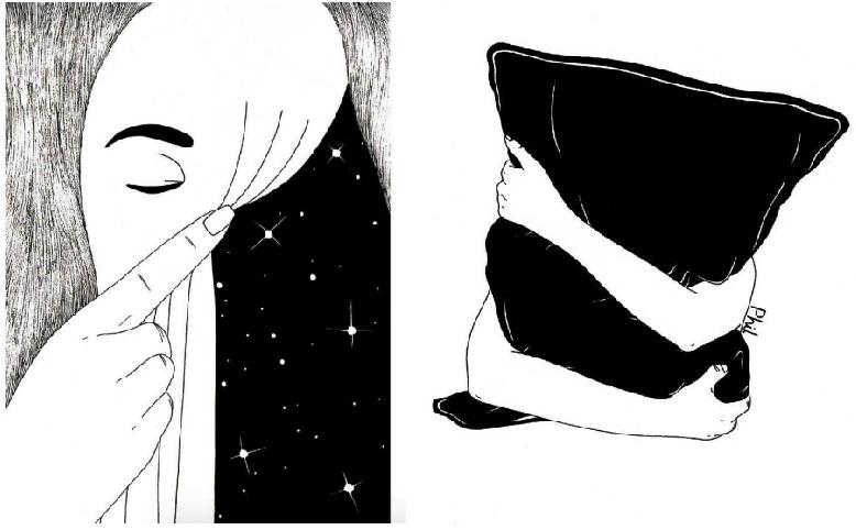 Ilustraciones sobre la diferencia entre abrir mi corazón y abrirte las piernas 10