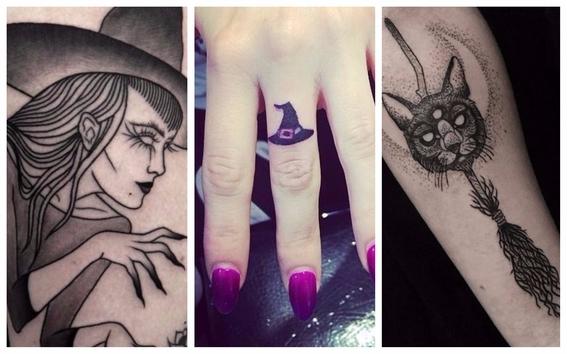 tatuajes de brujas para mujeres 2