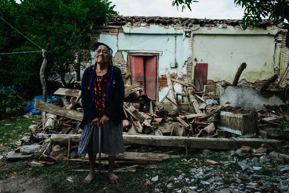 imagenes de la tragedia en juchitan 10
