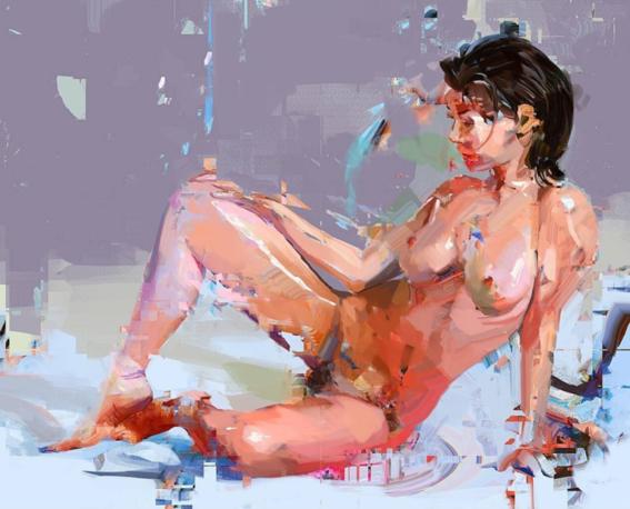 ilustraciones de mujeres sensuales 6