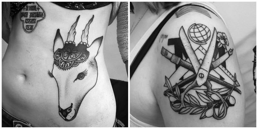 Tatuajes En Blanco Y Negro Para Las Almas Melancólicas Diseño Diseño