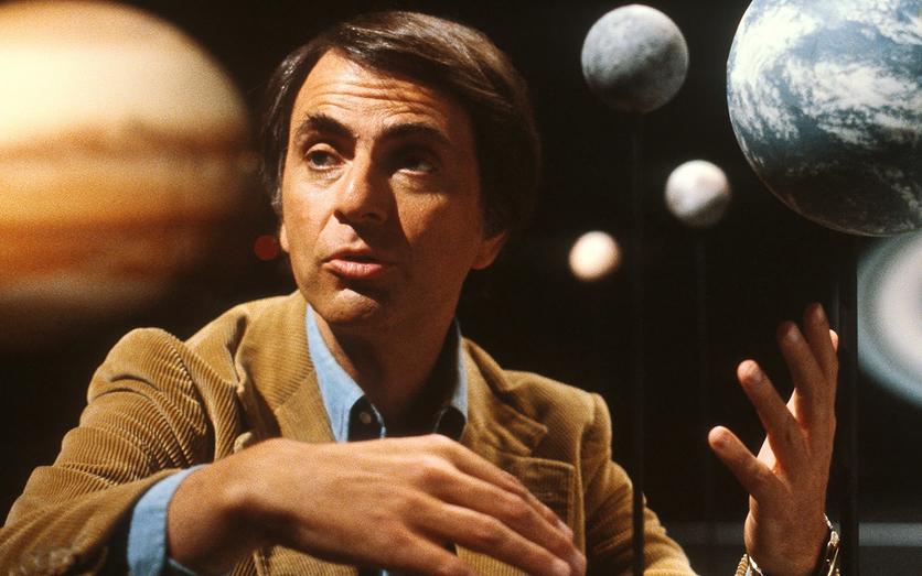 Cómo serán los humanos que lleguen al espacio según Carl Sagan 1