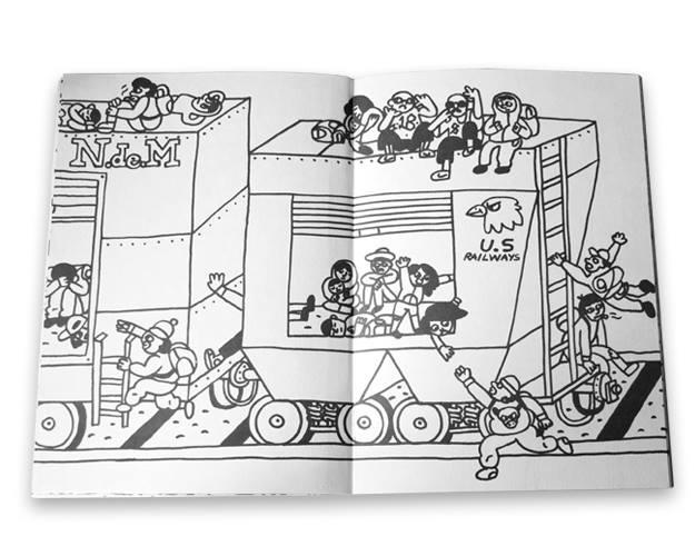 Ilustraciones que exponen la violencia y la hostilidad que se vive en Ecatepec 5