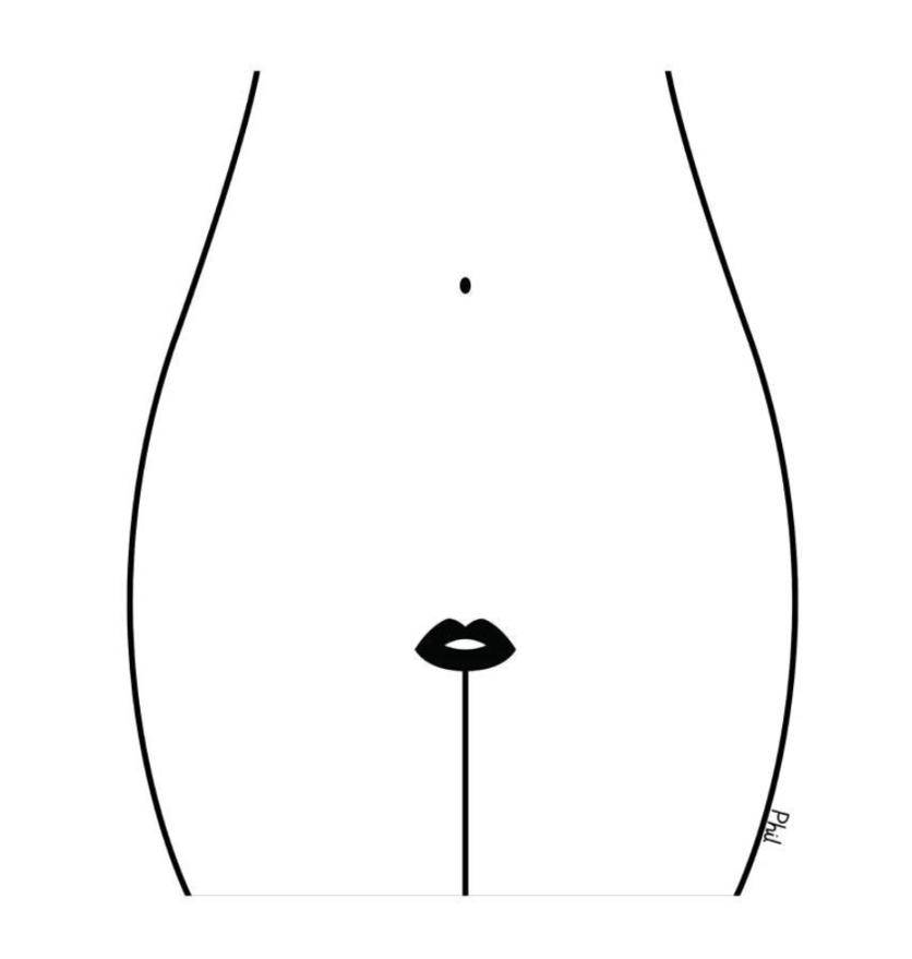 Ilustraciones sobre la diferencia entre abrir mi corazón y abrirte las piernas 0