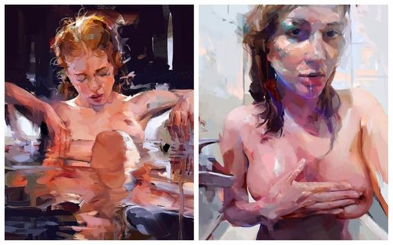 ilustraciones de mujeres sensuales 5