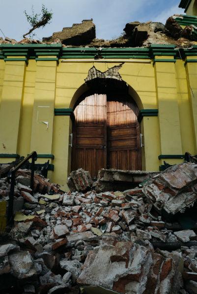 imagenes de la tragedia en juchitan 11