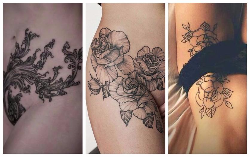 Tatuajes en la entrepierna para mujeres que no temen explotar su sensualidad 3