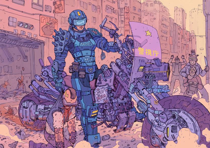 El sombrío y peligroso futuro de la humanidad en 20 ilustraciones 5