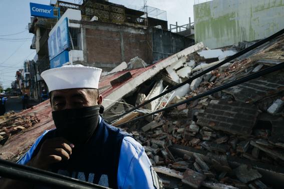 imagenes de la tragedia en juchitan 8