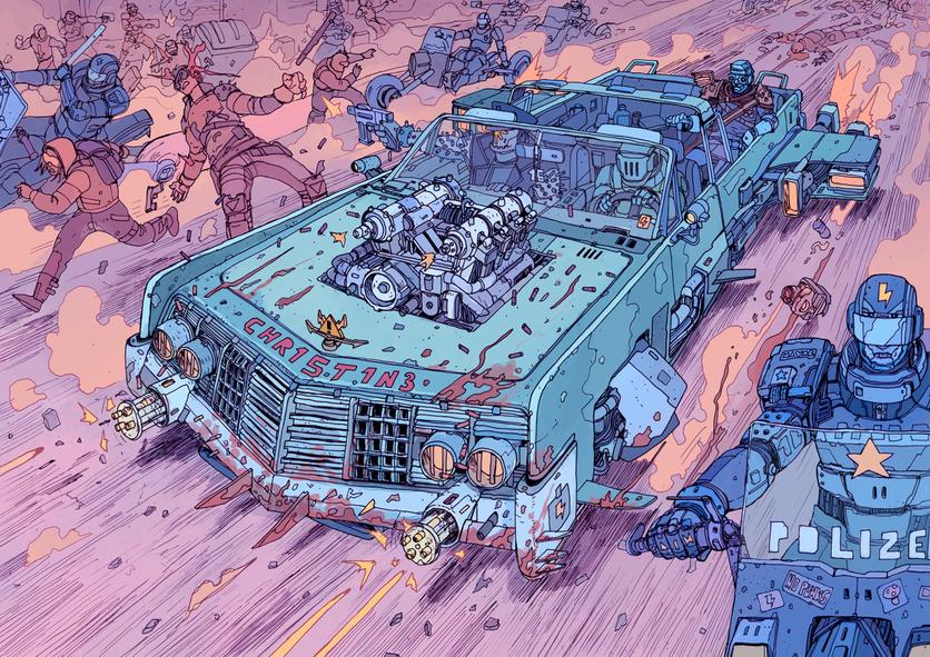 El sombrío y peligroso futuro de la humanidad en 20 ilustraciones 12