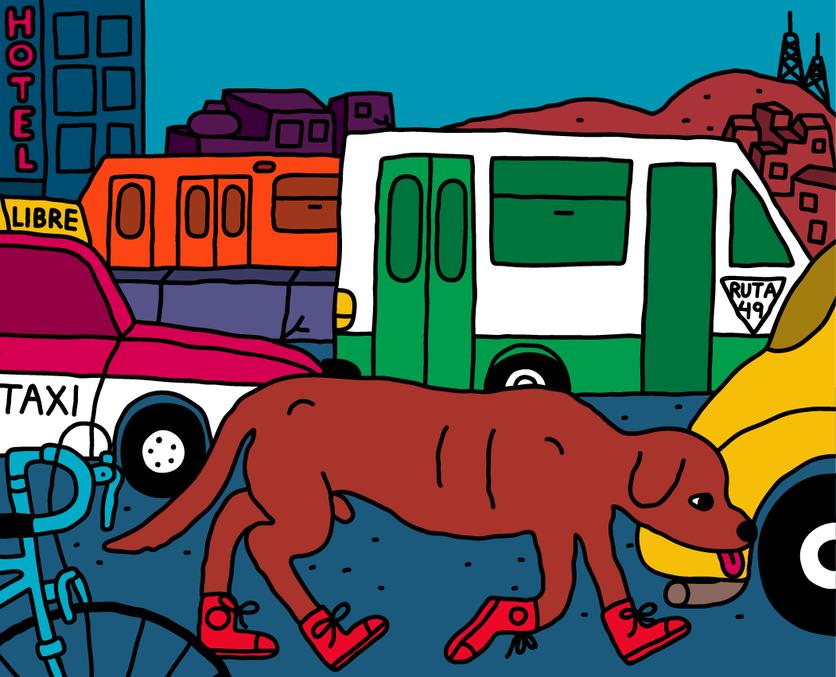 Ilustraciones que exponen la violencia y la hostilidad que se vive en Ecatepec 0