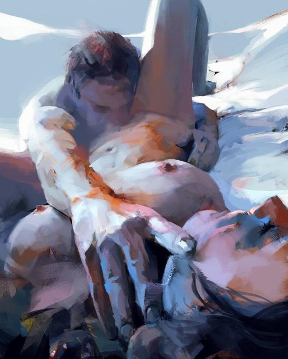 ilustraciones de mujeres sensuales 9