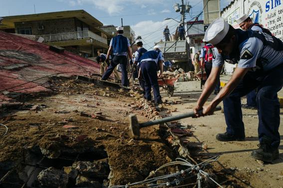 imagenes de la tragedia en juchitan 9
