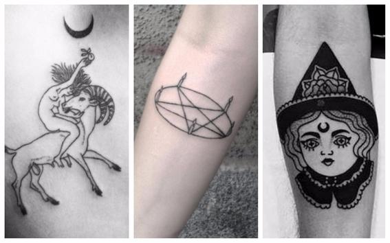tatuajes de brujas para mujeres 5
