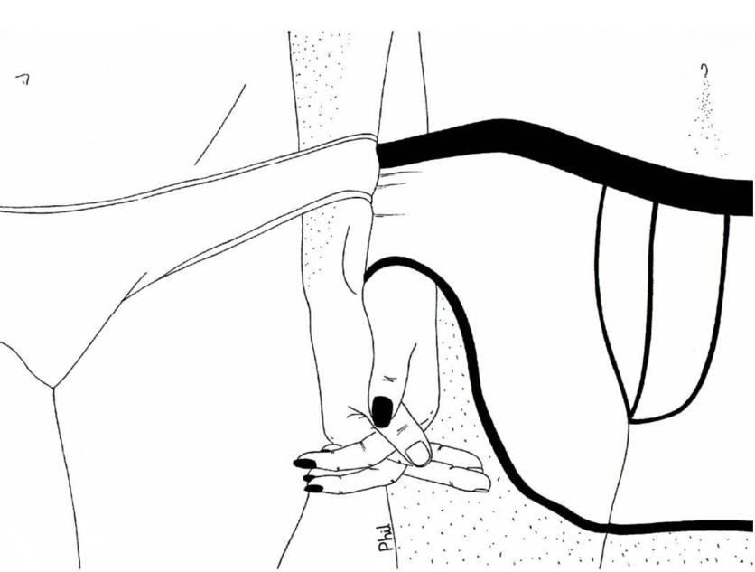 Ilustraciones sobre la diferencia entre abrir mi corazón y abrirte las piernas 2