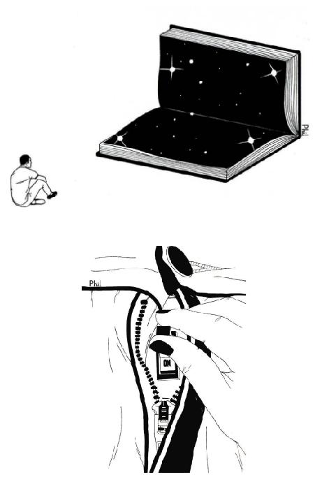 Ilustraciones sobre la diferencia entre abrir mi corazón y abrirte las piernas 6