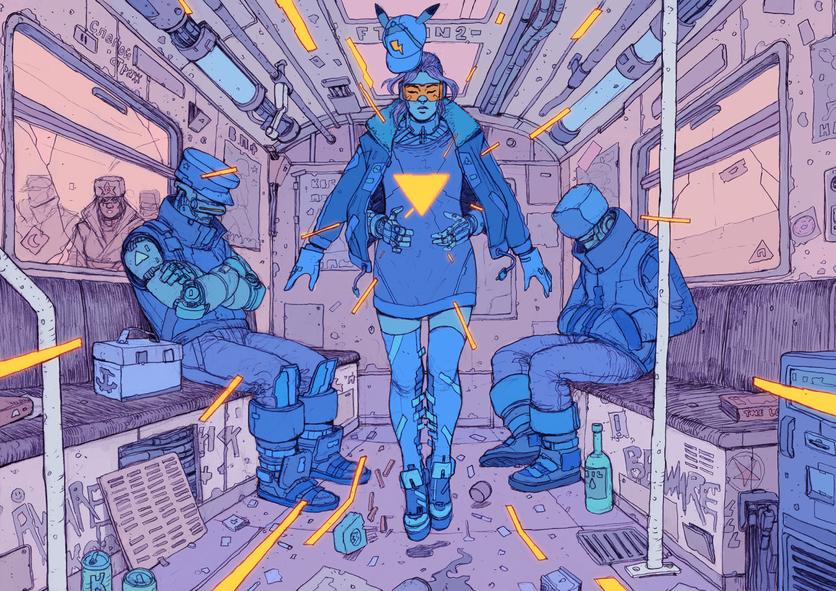 El sombrío y peligroso futuro de la humanidad en 20 ilustraciones 2