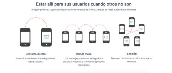 bridgefy aplicacion para comunicarte en desastres naturales 1