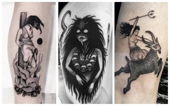 tatuajes de brujas para mujeres 6