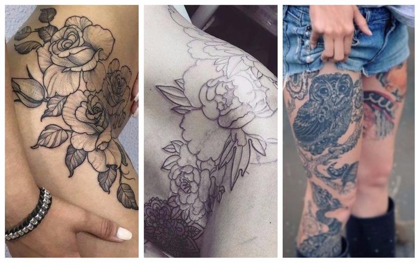 Tatuajes en la entrepierna para mujeres que no temen explotar su sensualidad 2