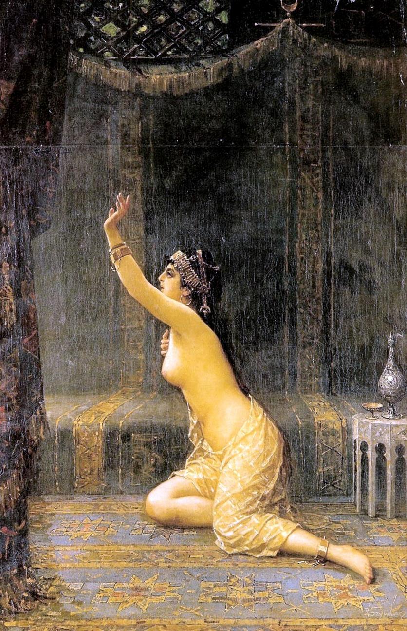 Esclavas sexuales y odaliscas en 5 pinturas eróticas 1