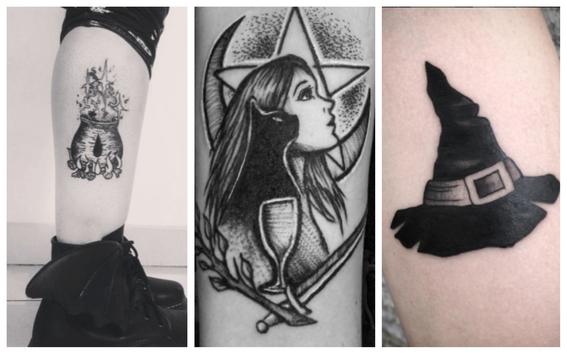 tatuajes de brujas para mujeres 7
