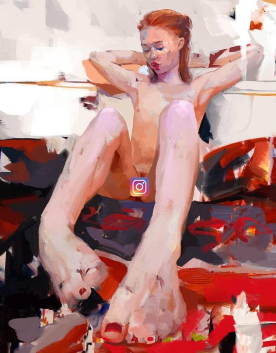 ilustraciones de mujeres sensuales 3