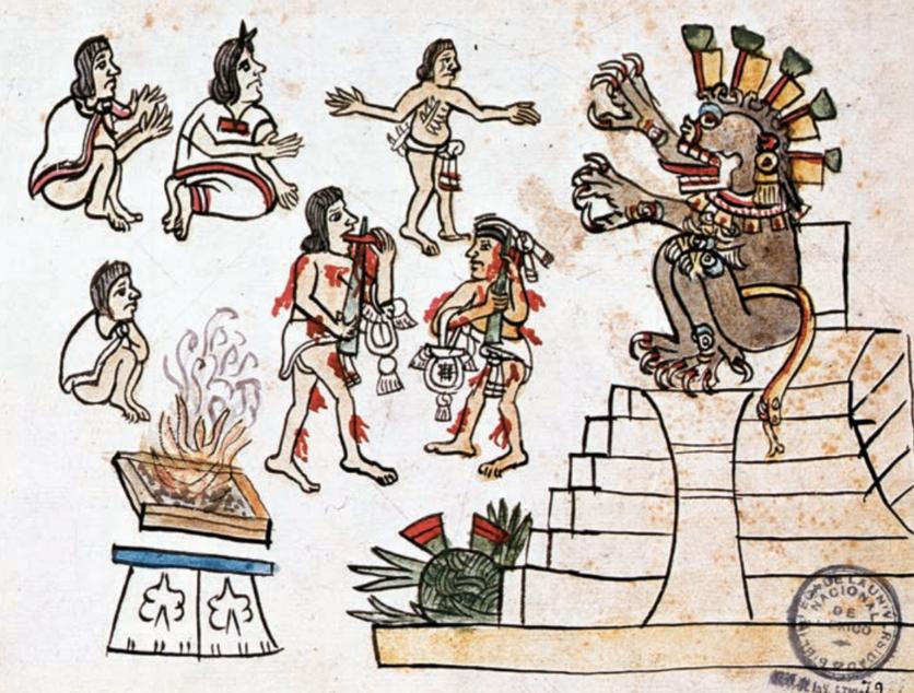 La diosa maya que alentó a miles a quitarse la vida 0