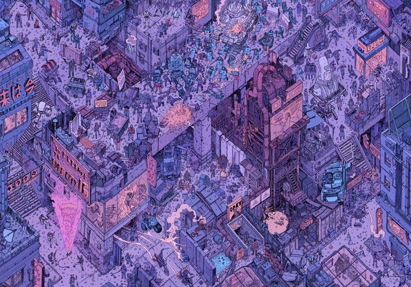 El sombrío y peligroso futuro de la humanidad en 20 ilustraciones 6