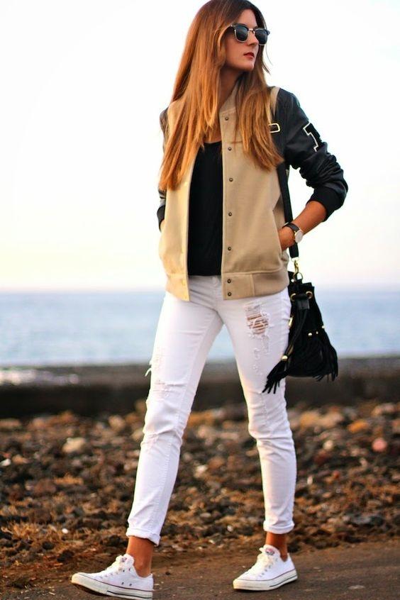 Errores que cometes al usar jeans blancos y cómo solucionarlos 8