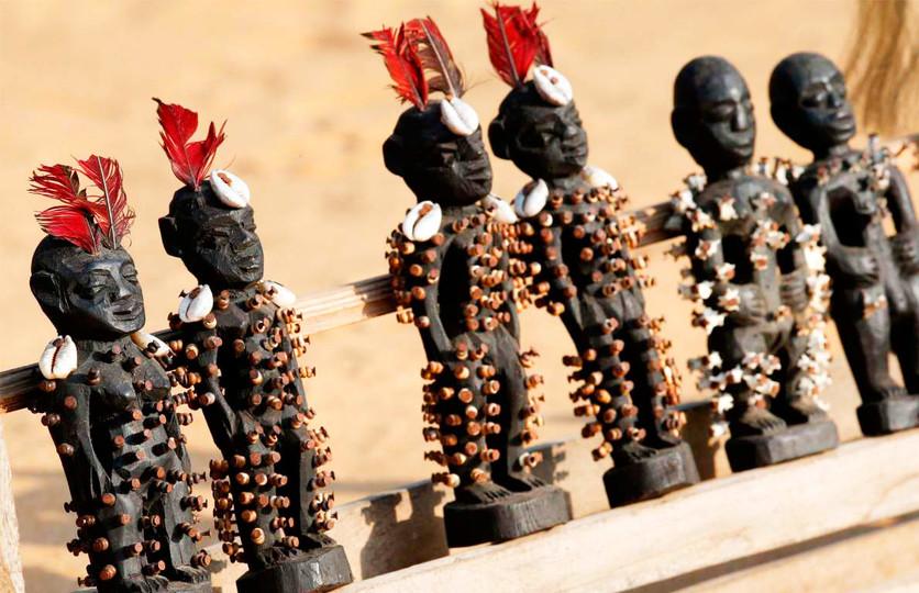 24 fotografías de sacrificios y vudú en África 18