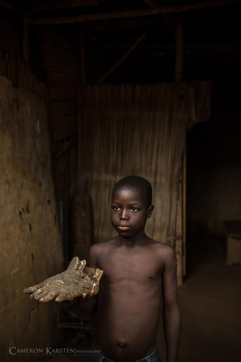 24 fotografías de sacrificios y vudú en África 4