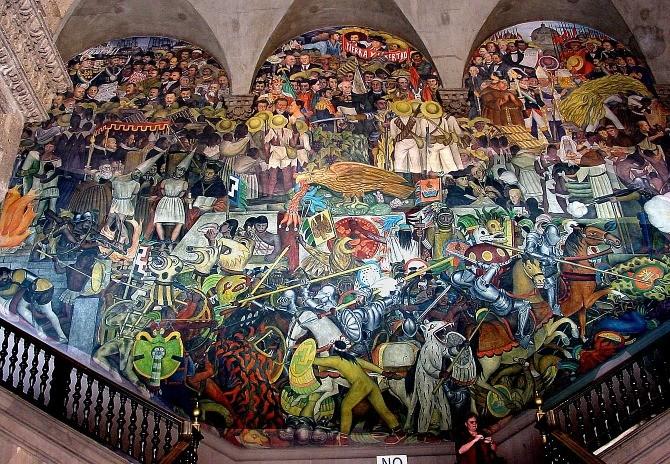 Los principales muralistas mexicanos 9