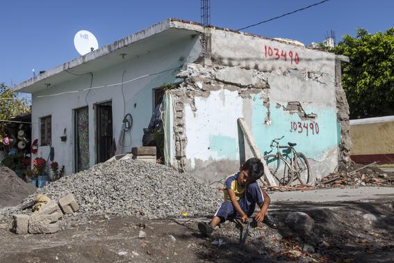 ninos damnificados por el sismo son vulnerables en albergues y campamentos 1