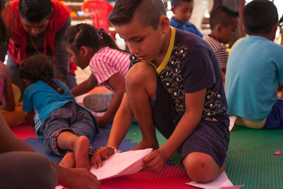 ninos damnificados por el sismo son vulnerables en albergues y campamentos 2