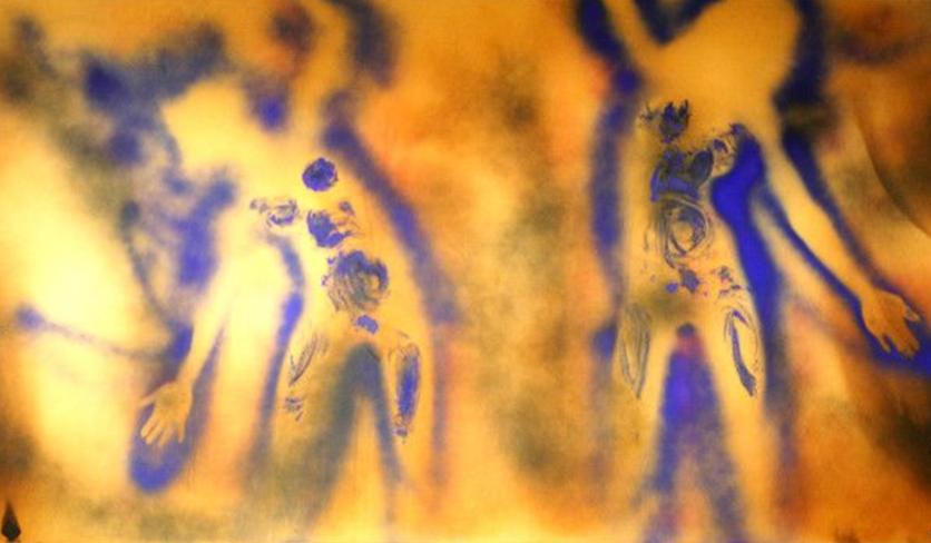 Las pinturas de fuego de Sabino Guisu que demuestran que los mexicanos sabemos renacer de las cenizas 1