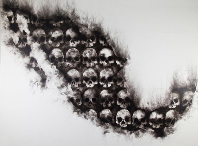 Las pinturas de fuego de Sabino Guisu que demuestran que los mexicanos sabemos renacer de las cenizas 9