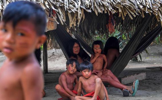 tribu amazonica 1