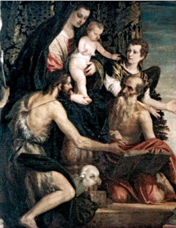 por que tocaban el pene de jesus en el arte 1