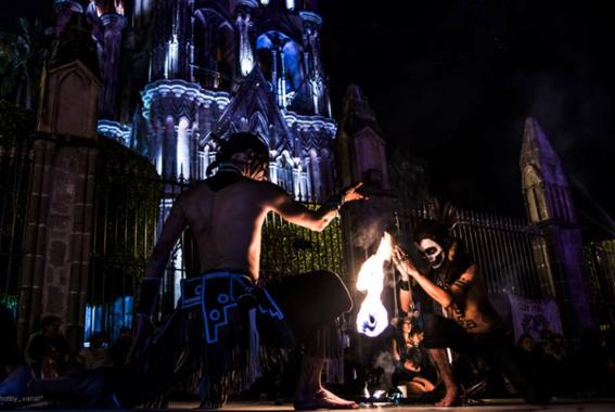 festival de la calaca en san miguel de allende 2
